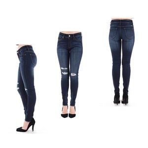 KanCan Distressed Super Skinny Jeans